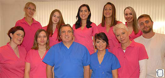 Praxisteam Dr. Roland Botar